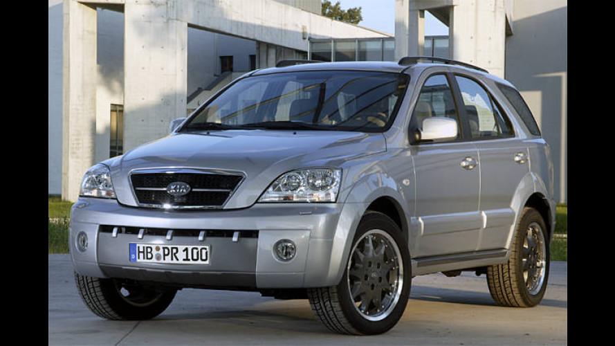 Kia Sorento Executive: Limitierter Edel-SUV mit Sport-Optik