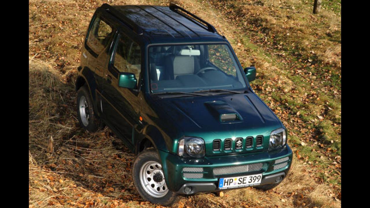 Suzuki Jimny Ranger: Für Jäger und Angler