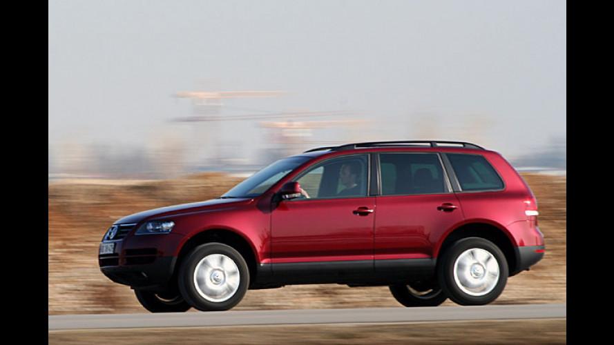 """VW Touareg V6 TDI: Mit sonorem ,Wrummm"""" auf die Straße"""