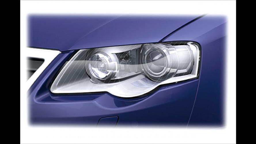Sicherheits-Plus im Golf Plus: Kurvenlicht bei Volkswagen