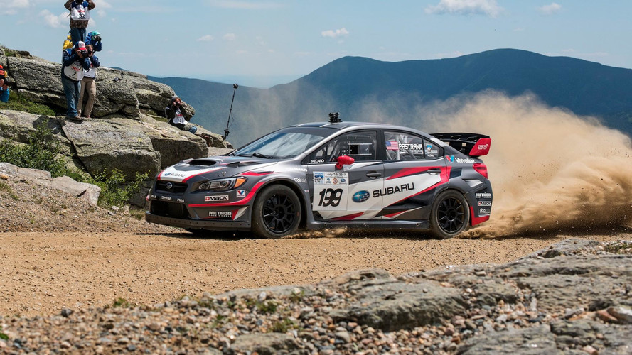 Watch Travis Pastrana's Insane Record Run Up Mt. Washington