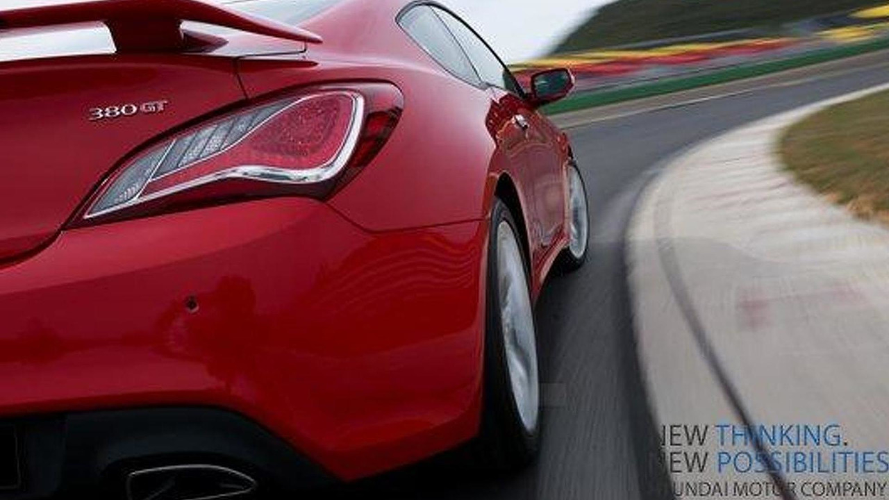 2013 Hyundai Genesis Coupe Teased   09.11.2011