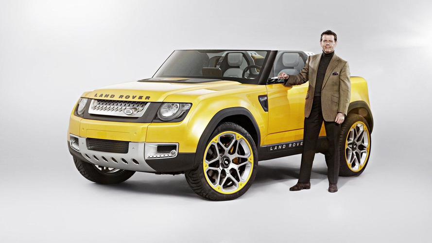 Second Land Rover Defender Concept surprises in Frankfurt [videos]