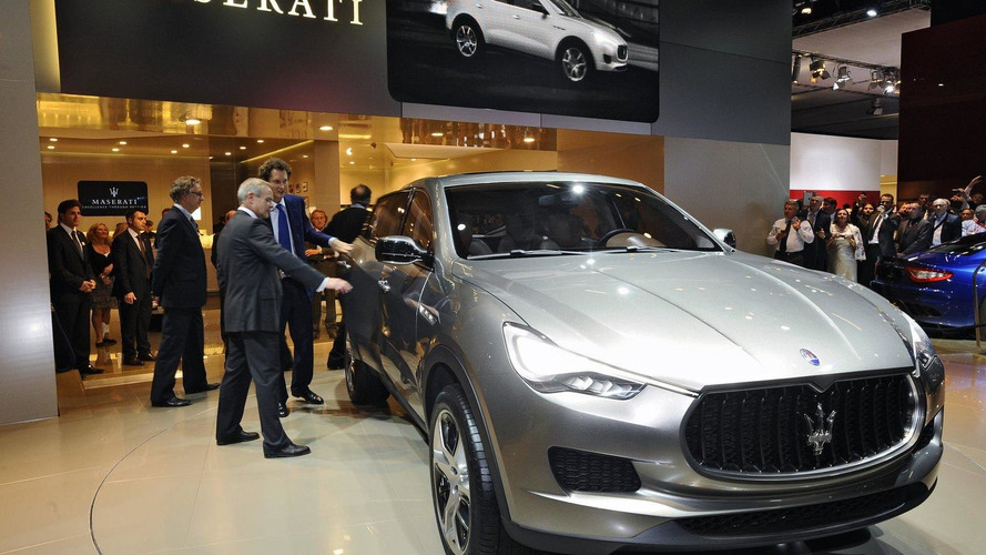 Maserati announces Ghibli sedan and Levante crossover
