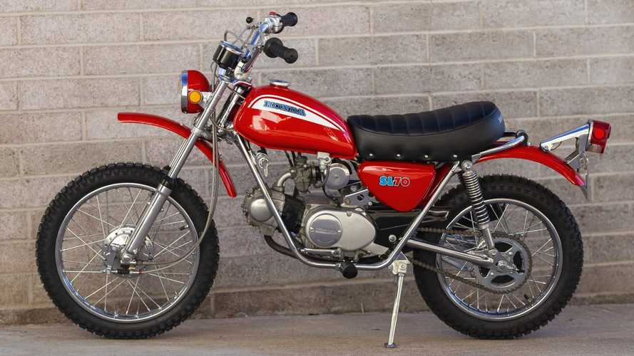 The 1971 Honda SL70 Beat Yamaha At The Minibike Game