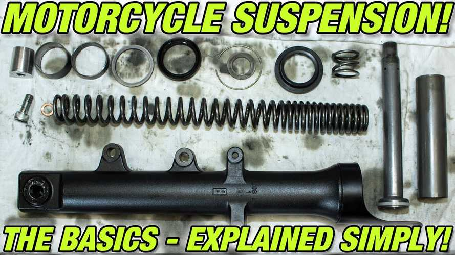 This Video Explains The Basics Of Motorcycle Suspensions
