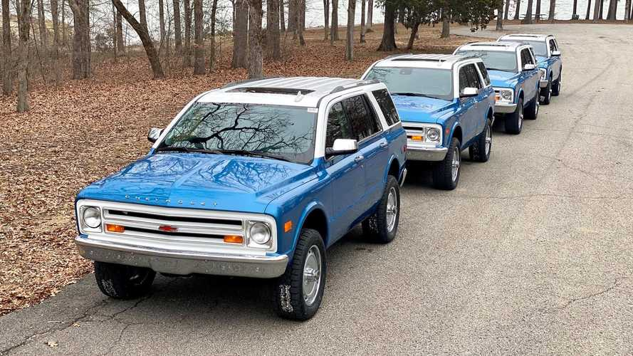 Chevrolet Tahoe Converted Into Chevy K5 Blazer Homage