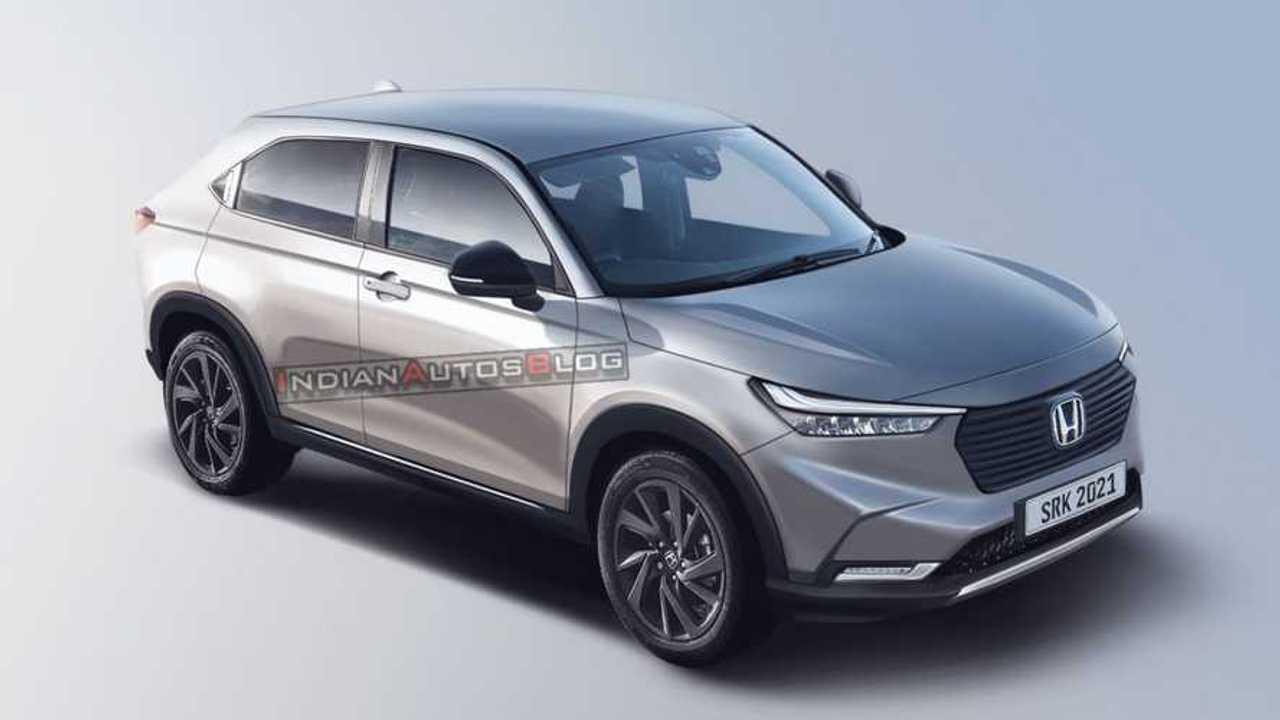 Honda HR-V 2022 - Projeção