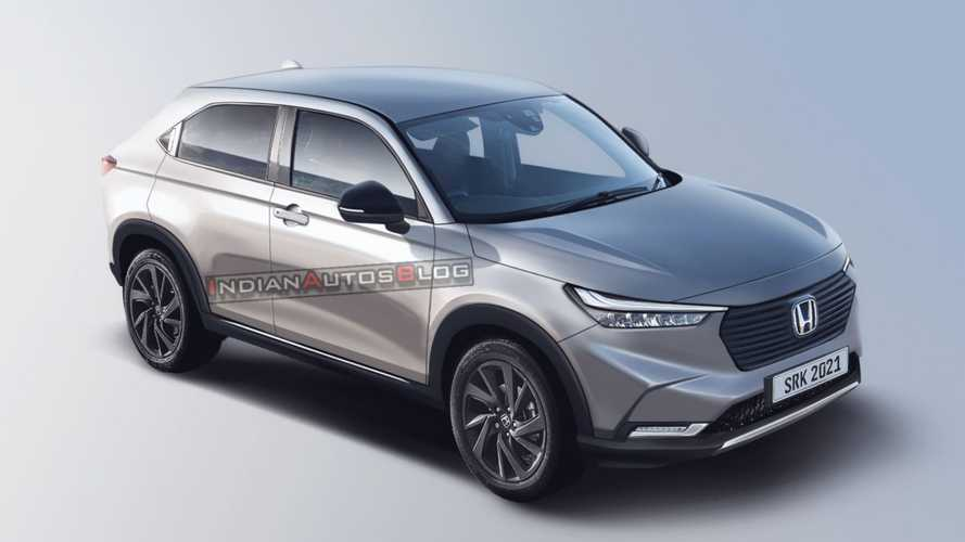 Novo Honda HR-V 2022 tem detalhes do design revelados em projeção