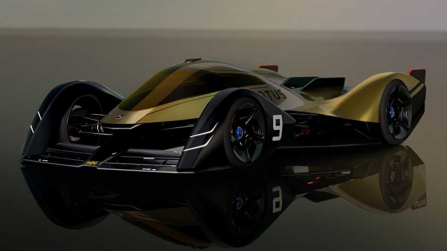 Lotus E-R9 Endurance Racer Previews Wild All-Electric Racing Future