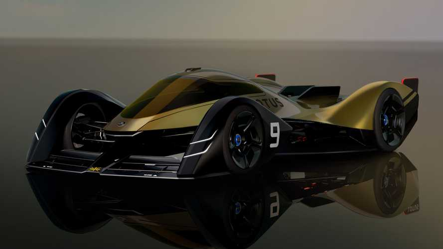 Lotus unveils electric prototype with fighter jet-inspired aero