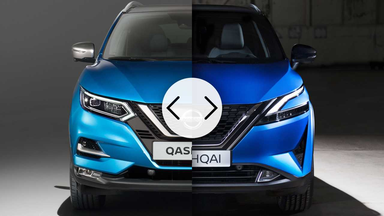 Der neue Nissan Qashqai (2021) und sein Vorgänger im direkten Vergleich