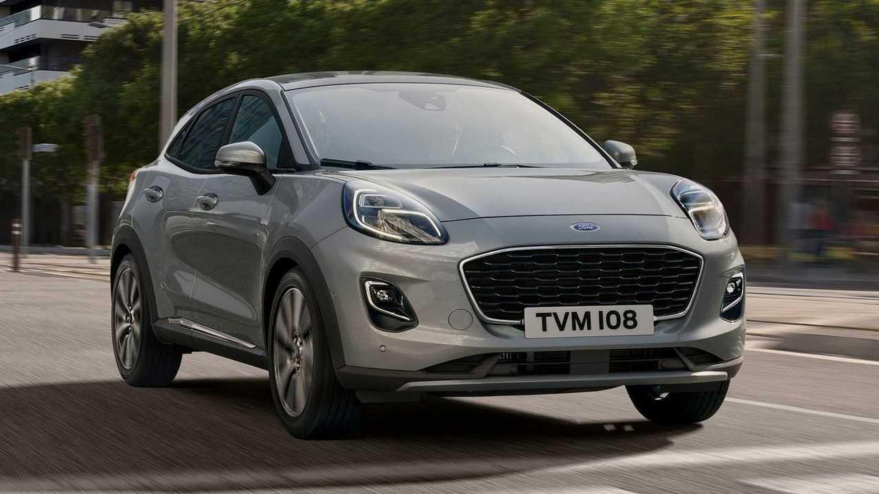 Ford Puma MHEV, con nuevo cambio automático