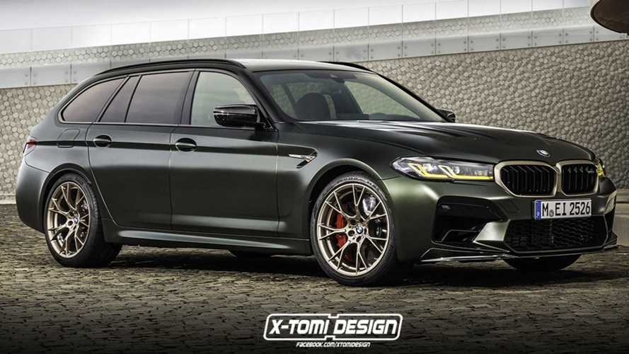 Recreación BMW M5 CS Touring: un familiar de ensueño