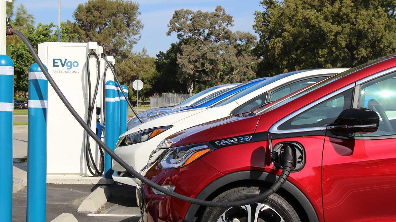 EVgo charging infrastructure
