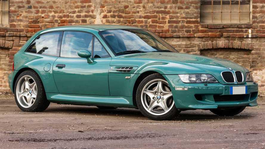 Este raro BMW Z3 M Coupé de 1998 saldrá a subasta