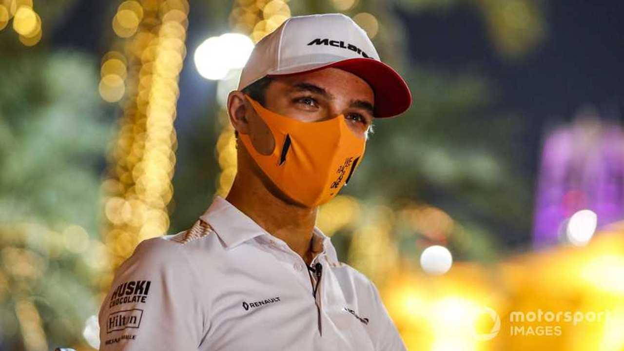Lando Norris at Sakhir GP 2020