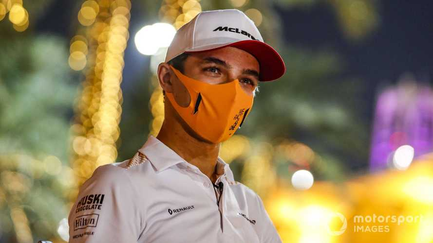 Norris found backlash of Hamilton comments 'tricky'