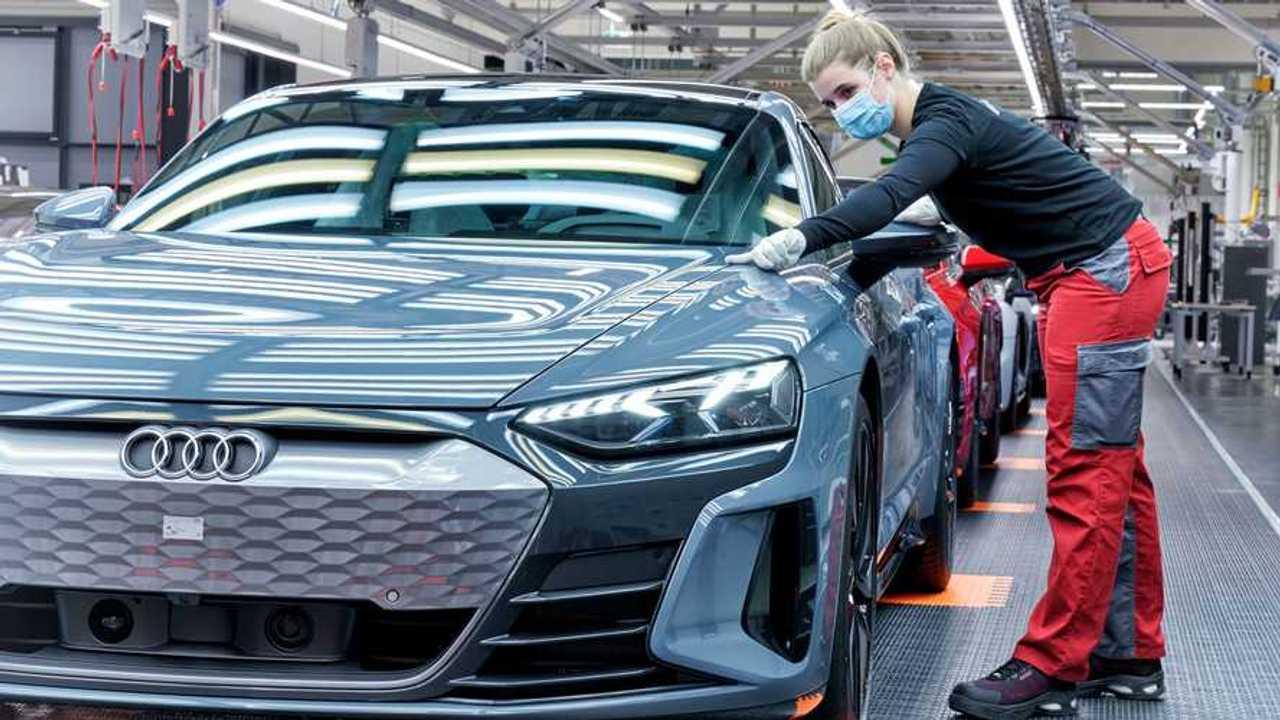 Produzione Audi e-tron GT