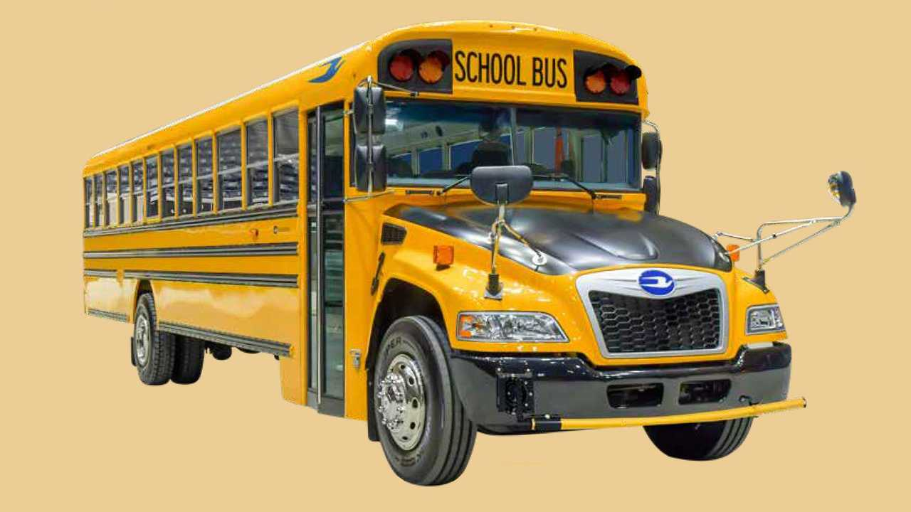 Blue Bird Vision Bus Using Ford 7.3L Godzilla Engines