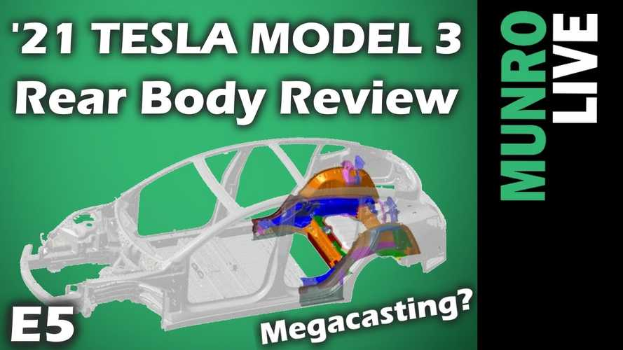 Sandy Munro Says Mega Castings Could Solve Gap Issues On Tesla Model 3