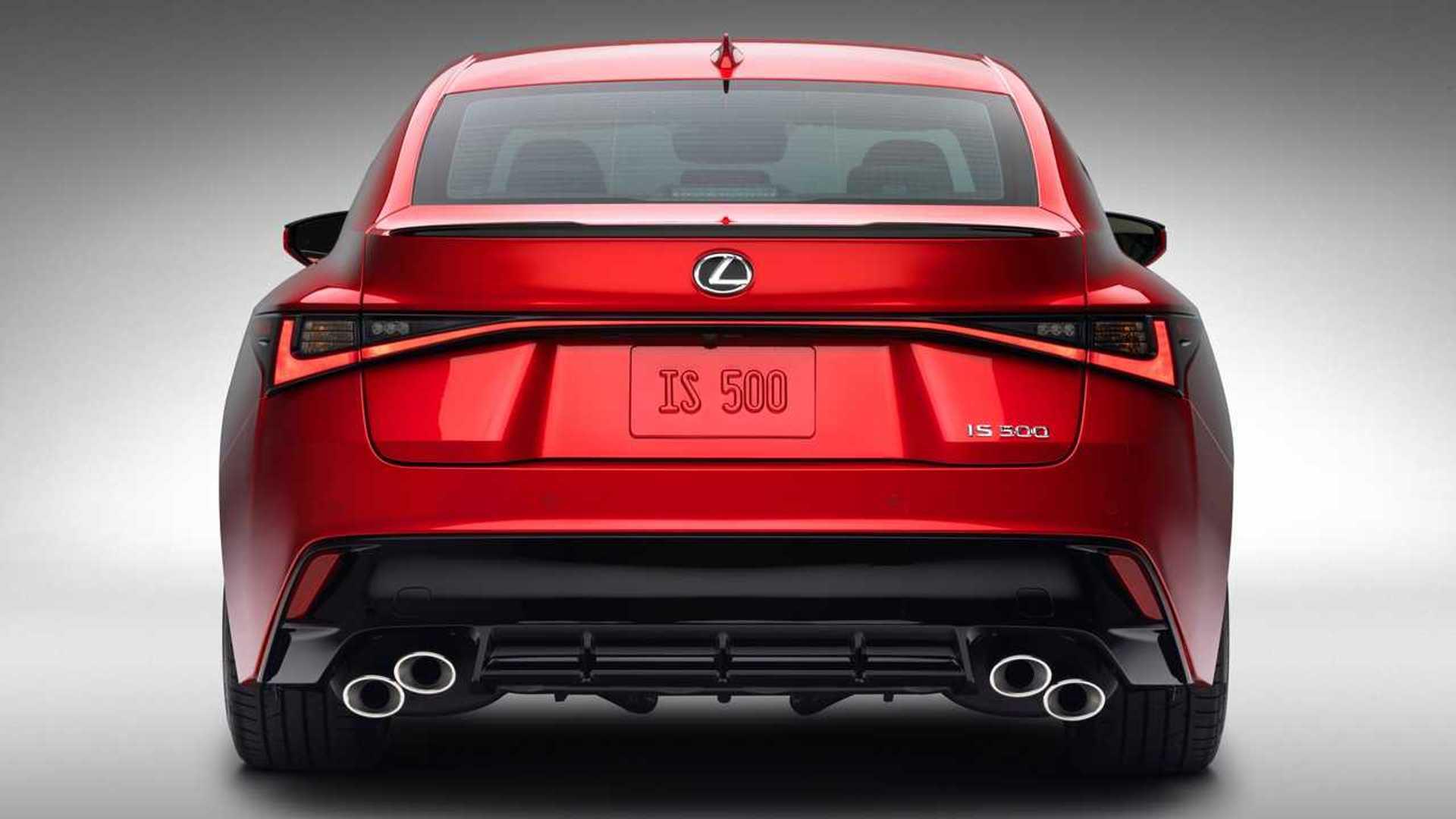 Lexus объясняет, почему новый IS 500 не является полноценной моделью F