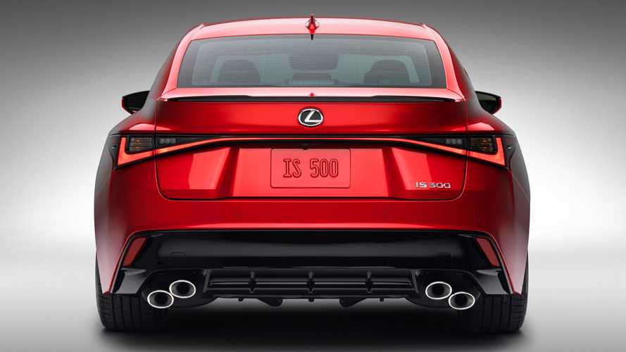 Lexus Explains Why The New IS 500 Is Not A Full-Fat F Model