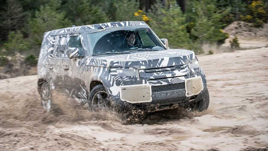 New Defender Teased To Celebrate World Land Rover Day