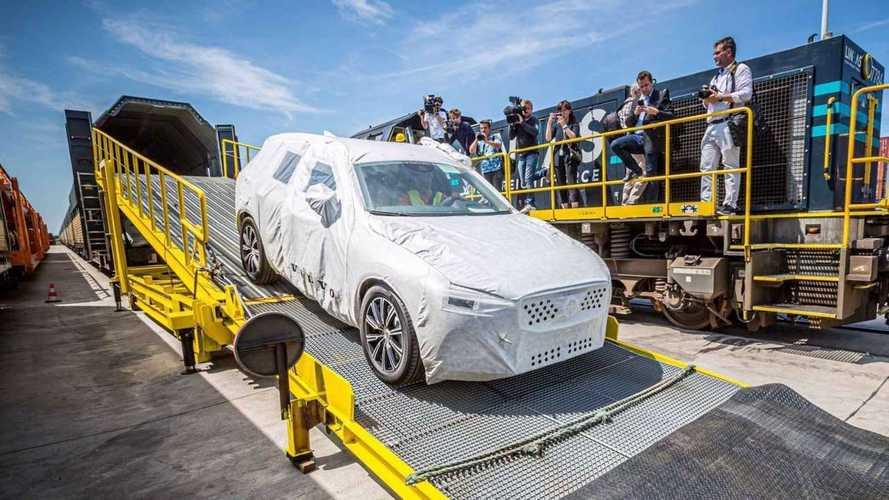 Volvo XC60 agora chega à Europa a partir da China - e de trem!