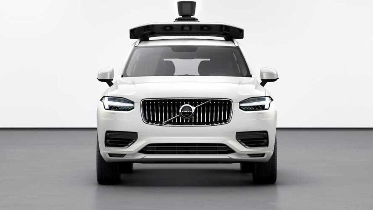 Volvo XC90 guida autonoma Uber