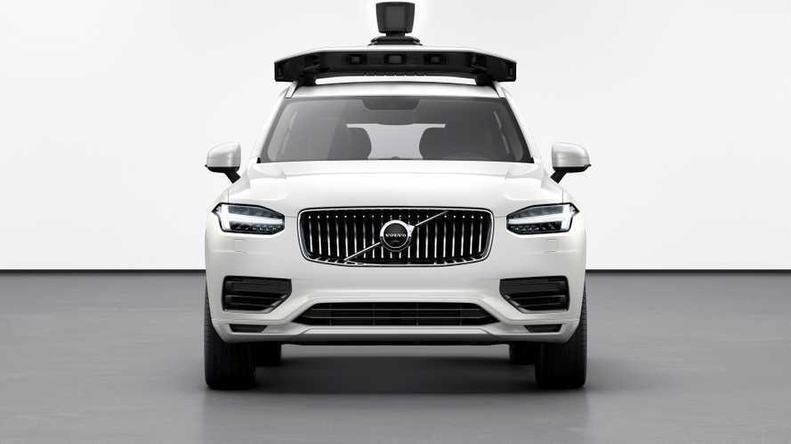 Una Volvo XC90 a guida autonoma per Uber