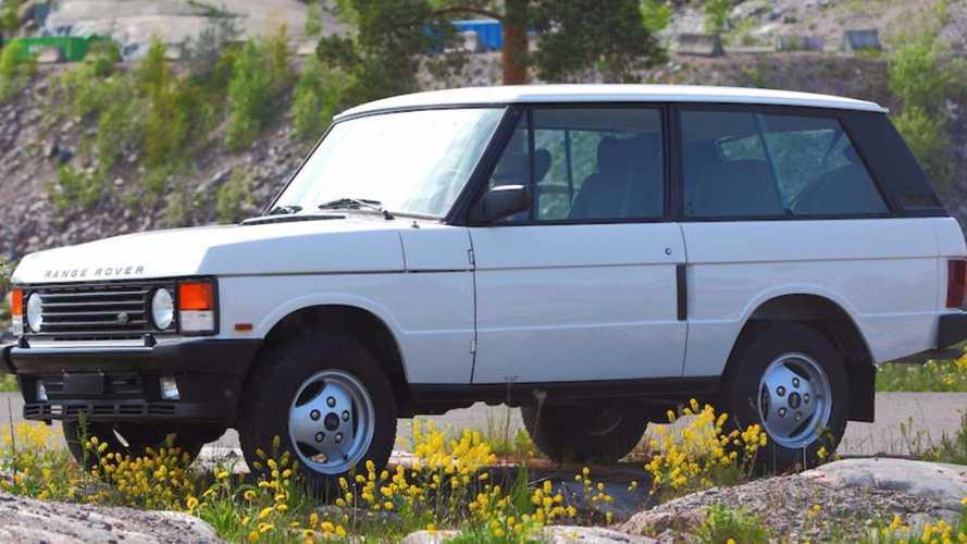 Last-Ever Range Rover Classic Two-Door