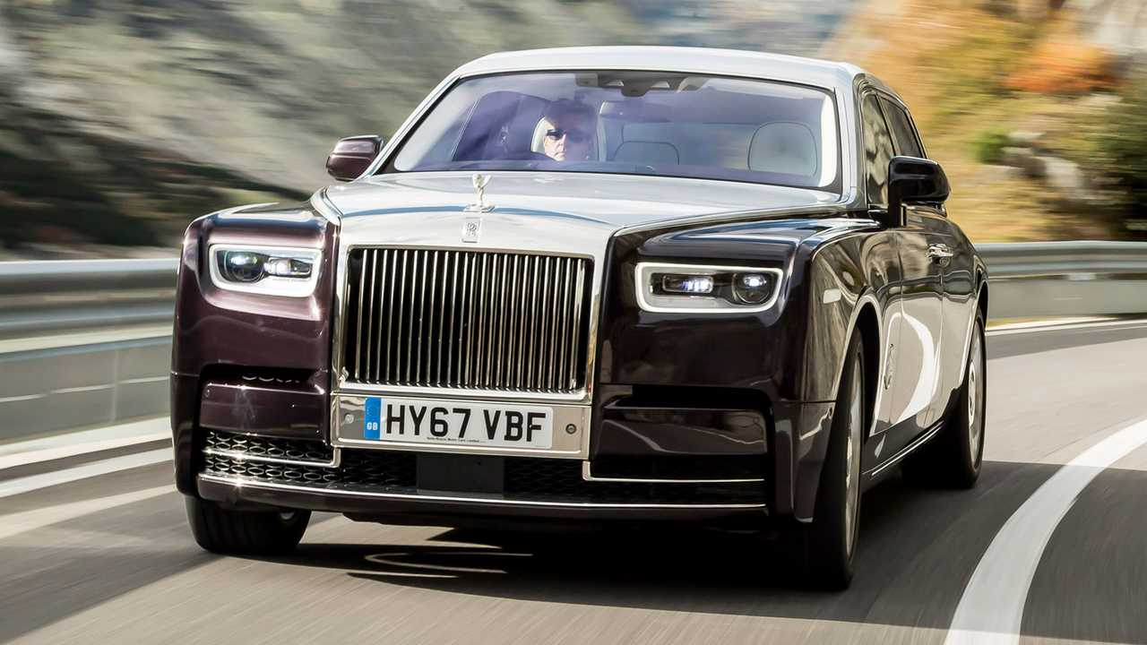 Autos mit krassem Grill: Rolls-Royce Phantom