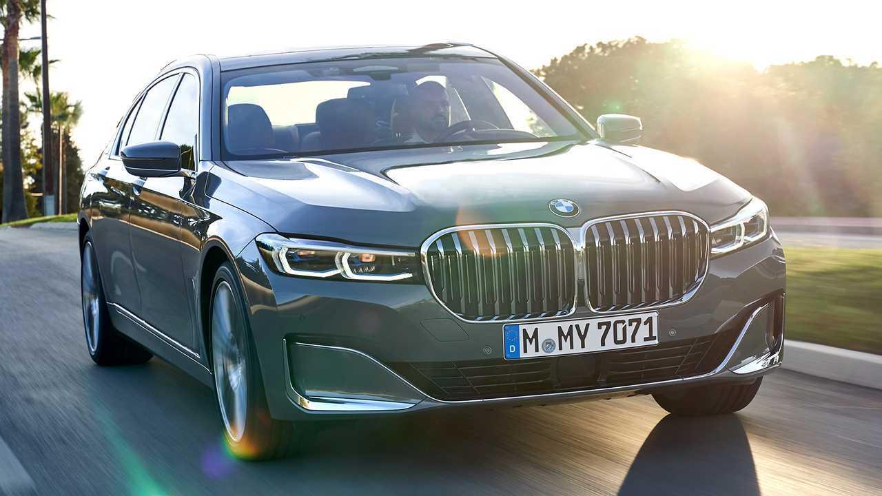 Autos mit krassem Grill: BMW 7er (2019)
