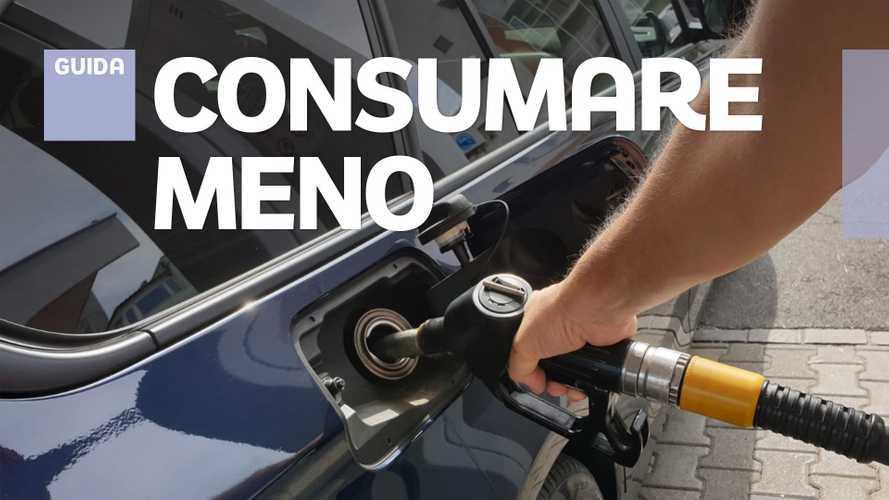 Come consumare meno in auto, i 10 consigli utili