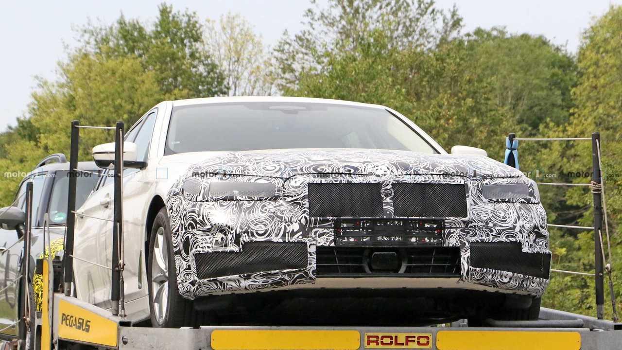 Nuova foto spia della BMW Serie 5 Touring