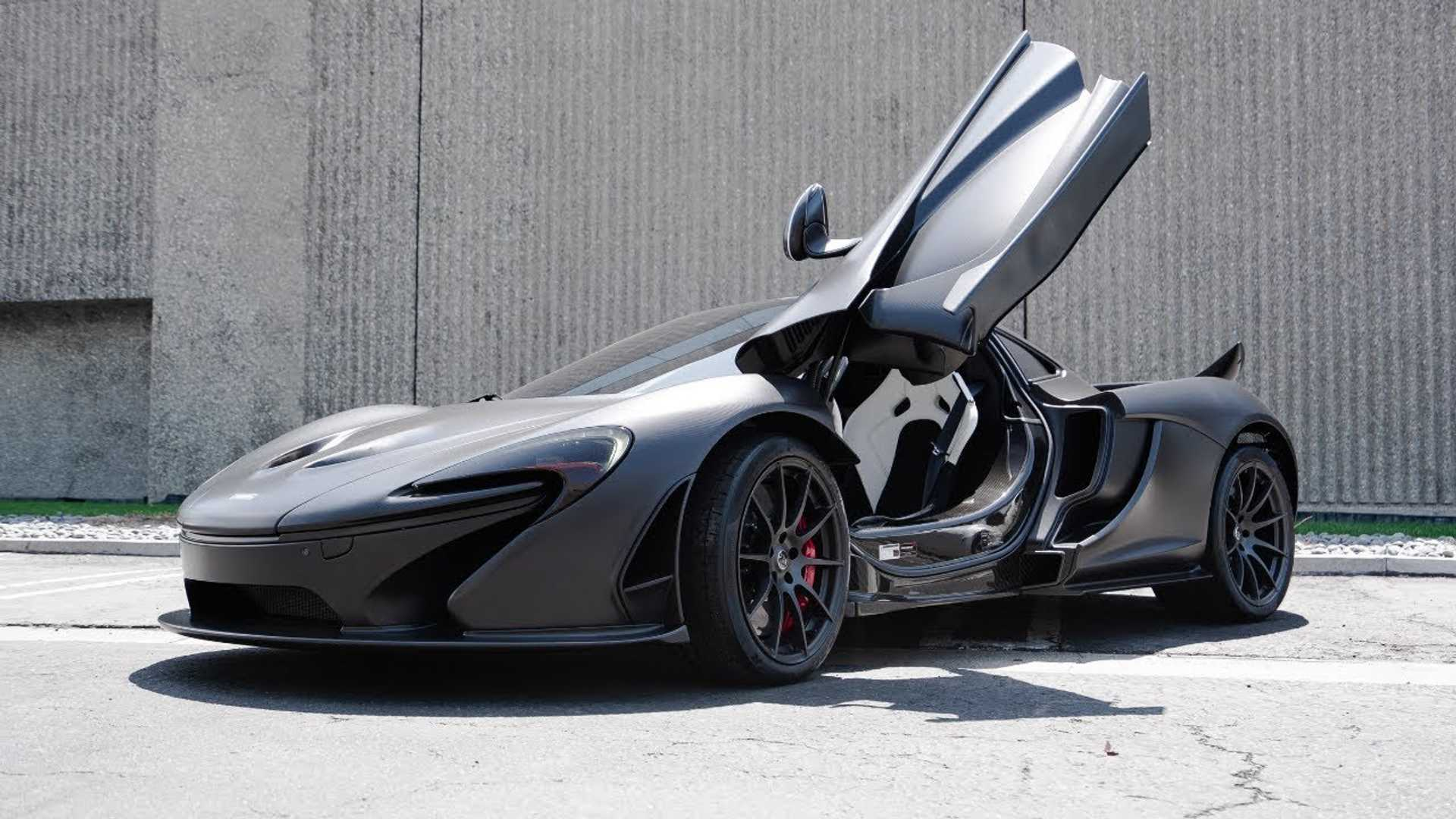 Watch this full-carbon, naked McLaren P1 tear through California