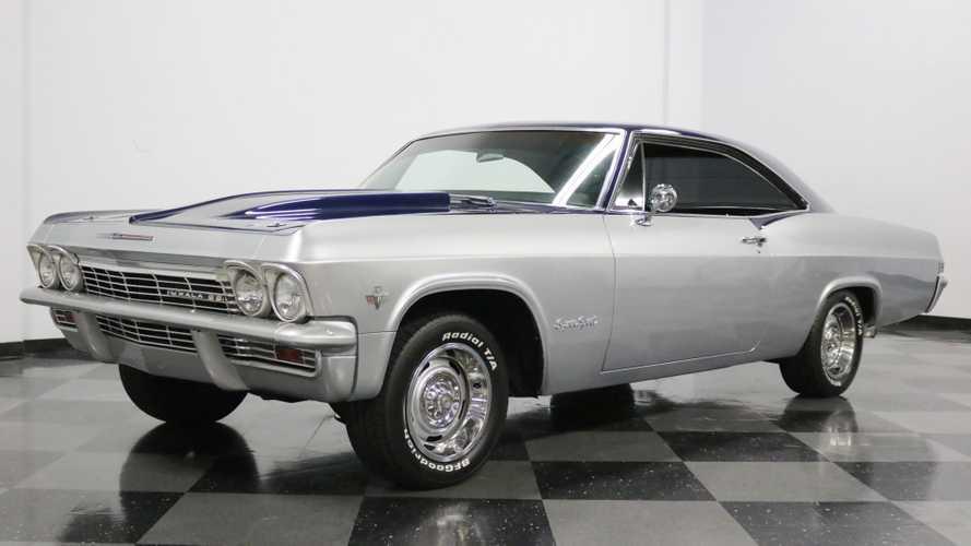 Sleek 1965 Chevrolet Impala SS Resto-Mod Up For Grabs