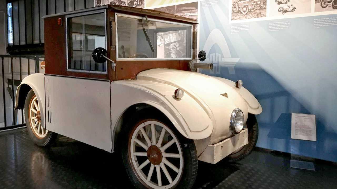 Kleinwagen-Ausstellung in Einbeck: Hanomag 2/10 PS