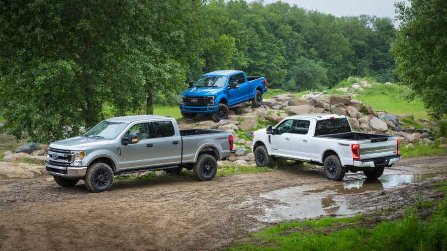 2020 Ford F-Series Super Duty with Tremor Off-Road Package