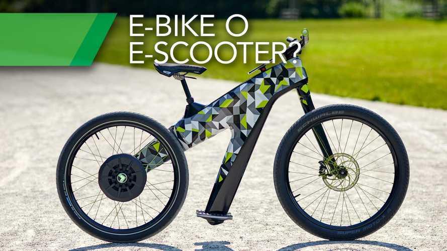 """Skoda Klement, ecco come si guida una """"e-bike senza pedali"""""""