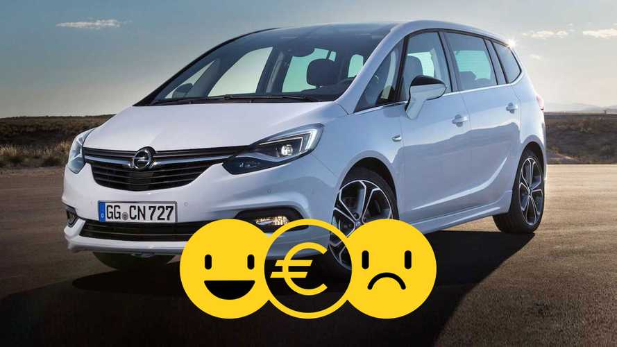 Promozione Opel Zafira, perché conviene e perché no