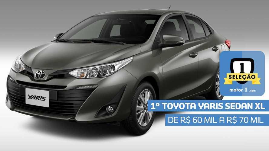 Seleção Motor1.com 2019: Toyota Yaris Sedan XL vence categoria de R$ 60 mil a R$ 70 mil
