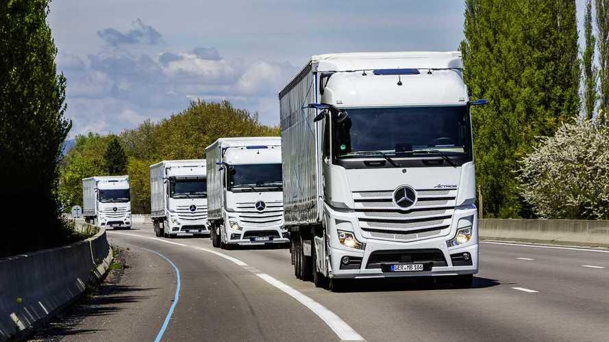 Viaggio in Spagna sul nuovo Mercedes-Benz Actros