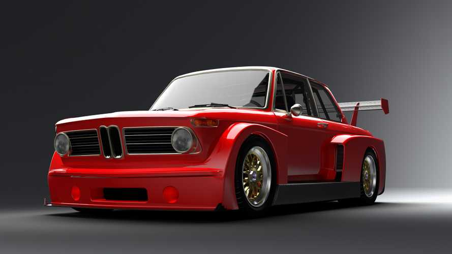 This BMW 2002 is a mental street-legal BMW race car with V10 power
