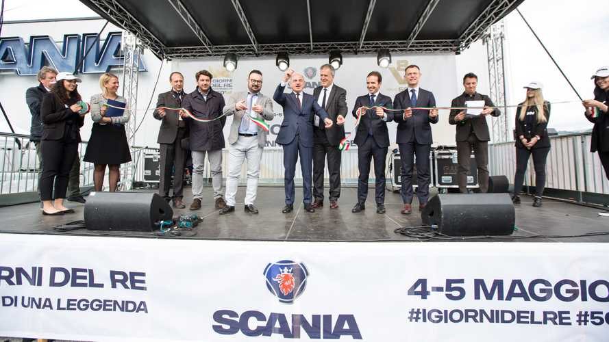 I Giorni del Re, weekend di passione pura con Scania