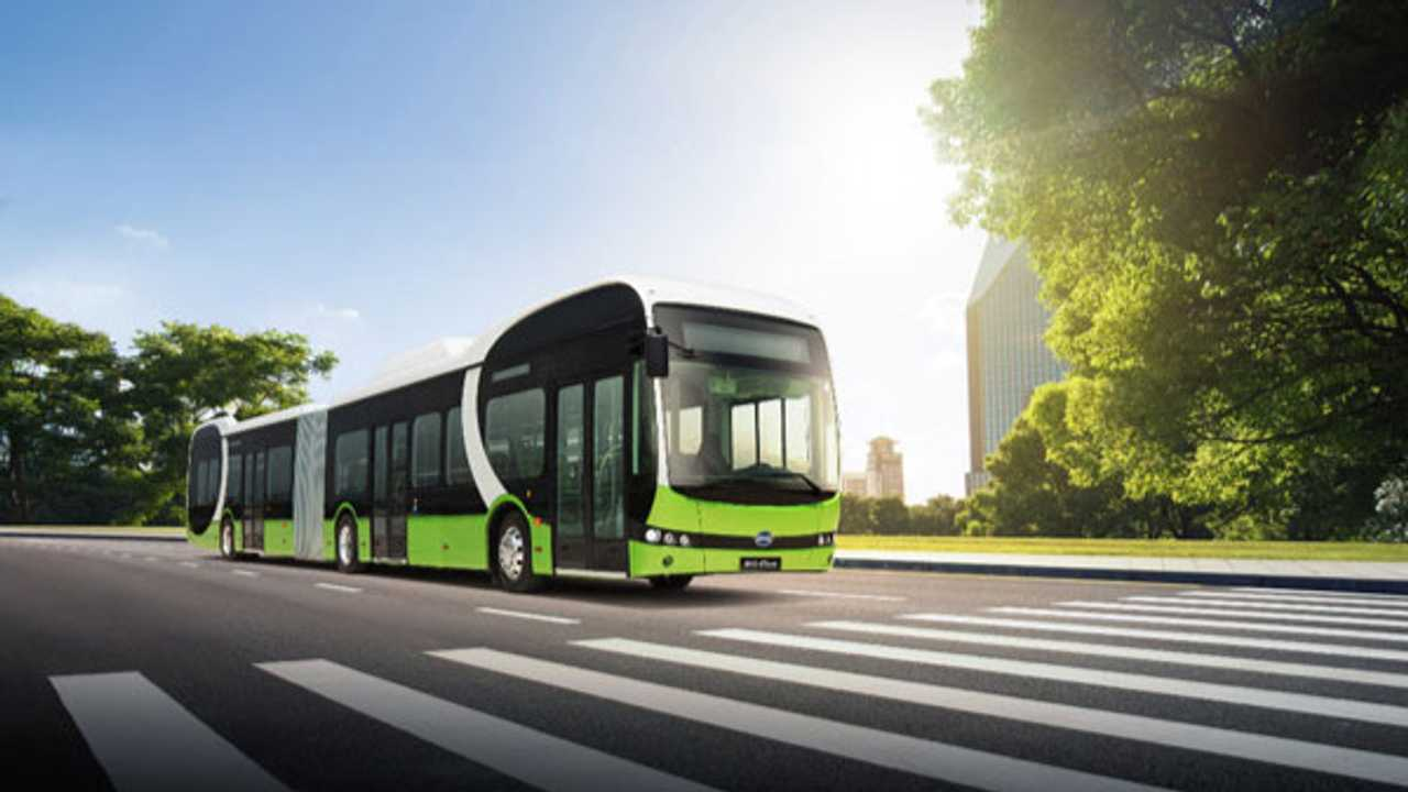 BYD 18M Pure Electric Articulated Bus