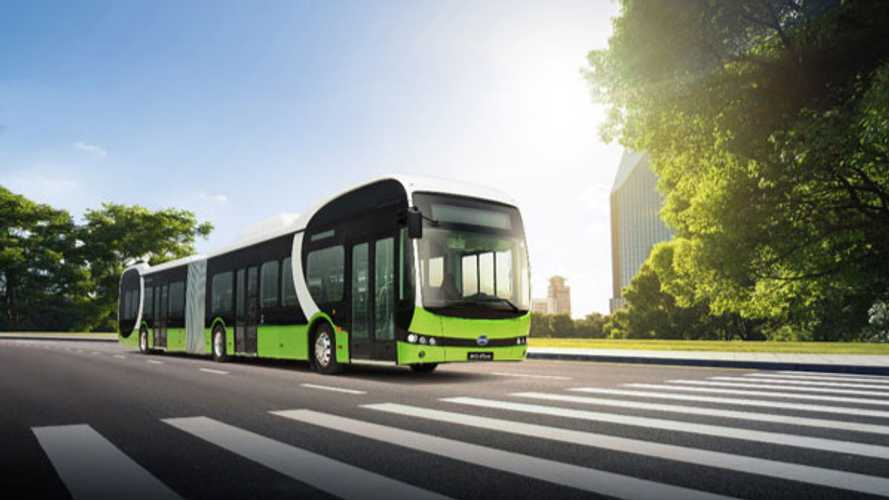 BYD Already Sold Over 700 Electric Buses In Europe