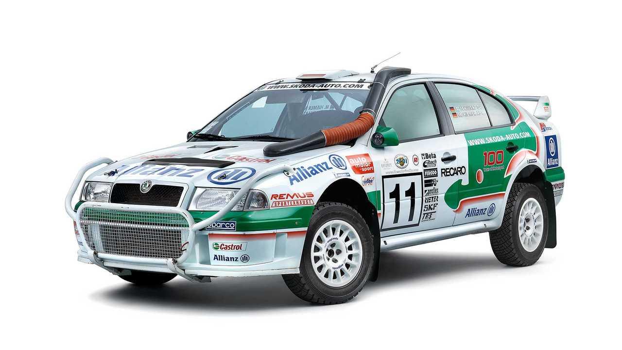 Skoda Octavia WRC (2003)