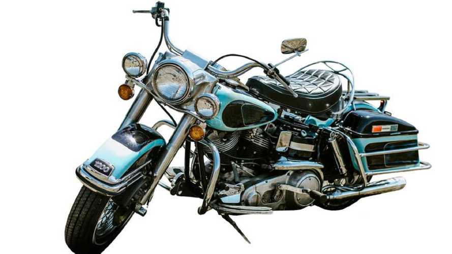 Ladies And Gentlemen, Elvis's Harley Has Left the Building